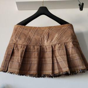 Hot Kiss  corduroy Mini Skirt size 7